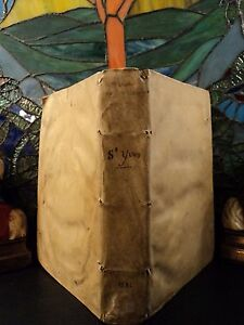 1584-1st-ed-Saint-Ivo-Bishop-of-Cartres-Medieval-Canon-Law-Chronicle-of-FRANKS