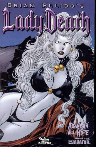 Avatar, 2006 Lady Death Abandon All Hope #4 Wraparound Variant Cover NEW