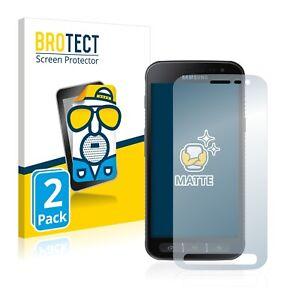 2x-Film-Protection-Mat-pour-Samsung-Galaxy-Xcover-4s-Protecteur-Ecran