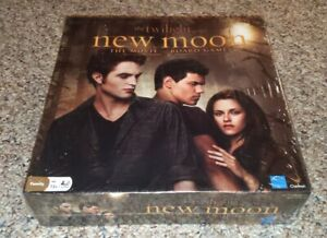 The Twilight Saga New Moon The Movie Board Game NEW Sealed ...