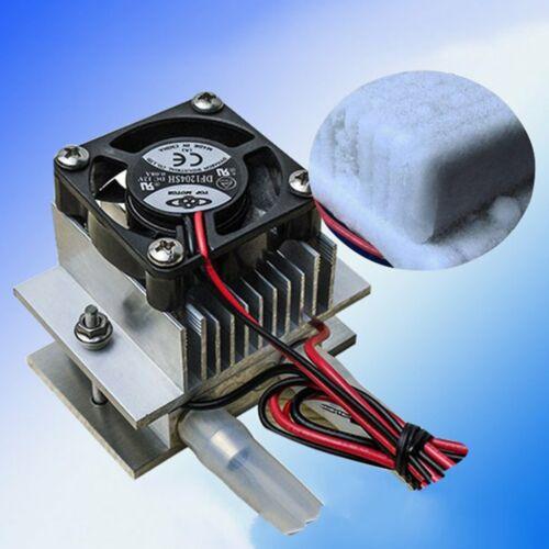 TEC1-12706 CoolerWU 70W DIY Cool Kits Thermoelectric Peltier Water Cooling Fan