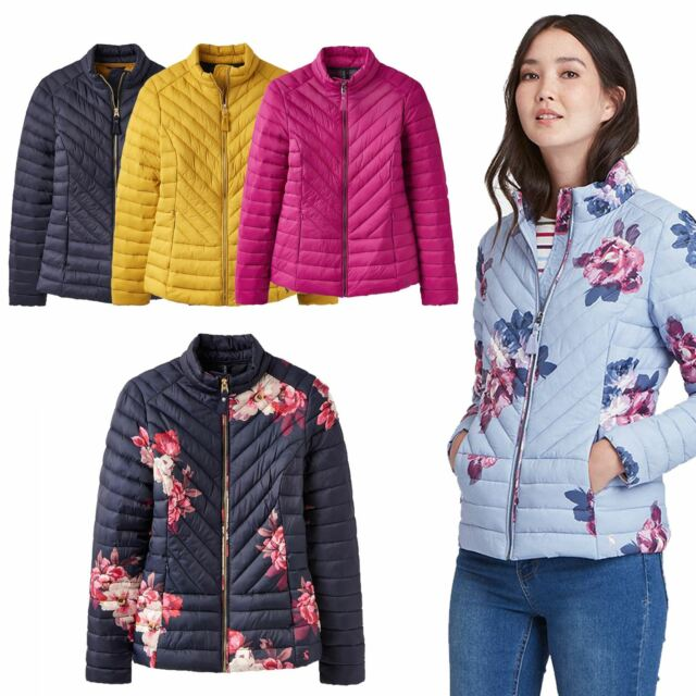 d16b43a2f Joules Elodie Laides Equestrian Winter Chevron Quilted Horse Riding Warm  Jacket