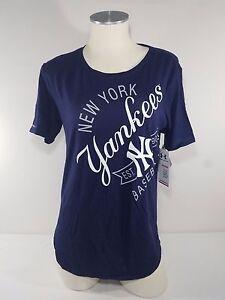 12598a15 NWT Under Armour New York Yankees Women's Navy Shirt Baseball MLB M ...