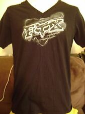FOX RACING T-SHIRT MEDIUM -V NECK- MX-MOTO X-SUZUKI,YAMAHA,HONDA,KTM-KAWASAKI