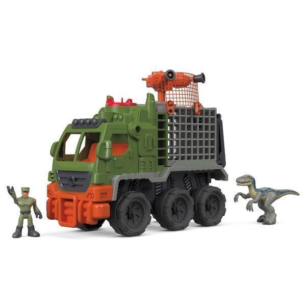 Imaginext Jurassic World Dinosaur Hauler Set Figures Action Dinosaurs Toy Kids