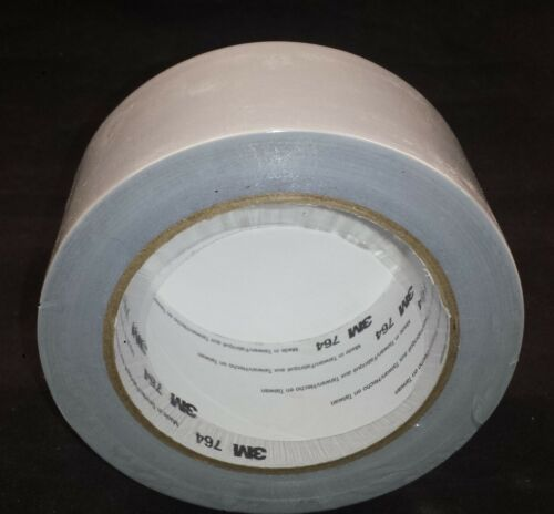New 3M 764 General Purpose Vinyl Tape 2 in x 36 yard Gray