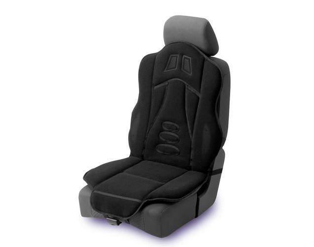Halfords Padded Car Seat Cushion Cover Protector Back Support Interior Comfort