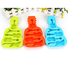 DIY Cute Guitar Cake Mold Soap Flexible Silicone Mould laur Candy Chocolate Cake