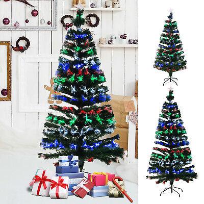 weihnachtsbaum tannenbaum baum led glasfaser 150cm 180cm. Black Bedroom Furniture Sets. Home Design Ideas
