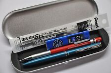 Pentel Philography Turquoise +Graph 600 0.5 Automatic pencil +2 free refill