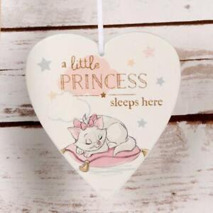 Brillant Disney Little Princess Sleeps Marie Pendant Plaque Magical Débuts Cadeau Bébé Gagner Une Grande Admiration