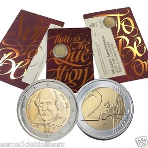 Piece-commemorative-2-euros-SAINT-MARIN-2016-Shakespeare-80-000-exemplaires