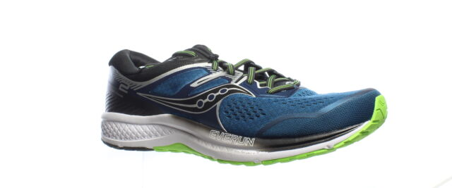 Saucony Mens Omni Iso 2 Blue/Silver Running Shoes Size 12.5 (1448228)
