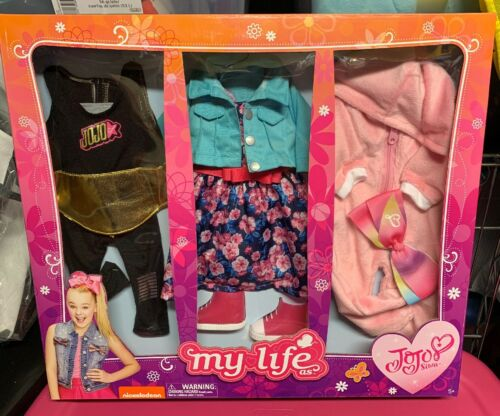 My Life As JoJo Siwa 18 Doll Clothes 3 Outfits