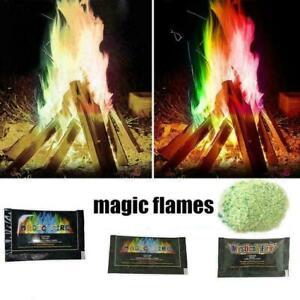 25g-Mystic-Fire-Magic-Tricks-Bunte-Flammen-Spielzeug-Spiel-Pulver-Lagerfeue-S7G4