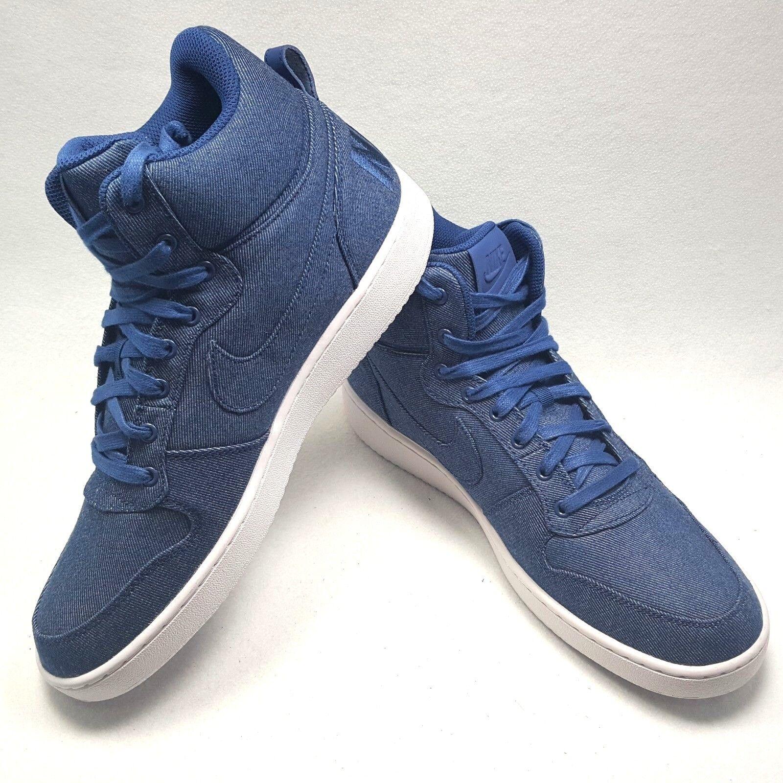 Nike Nike Nike Hof BGoldugh Mid Denim Coastal Blau Turnschuhe 844884-400 Herren Größe 12 Neu 21f2f9