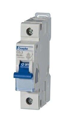 Doepke Leitungsschutzschalter C 16A 1p 230V 10kA 1TE AC/DC... DLS6IC16-110KA