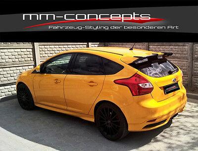 98-10.01 Rieger Frontspoilerlippe schwarz matt für Ford Focus 1