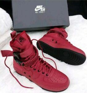 1 Sz 857872 Nike 7 Cedronero Field 5 donna Spicial 600 Boots Air Scarpe da Force wPOnkNX80