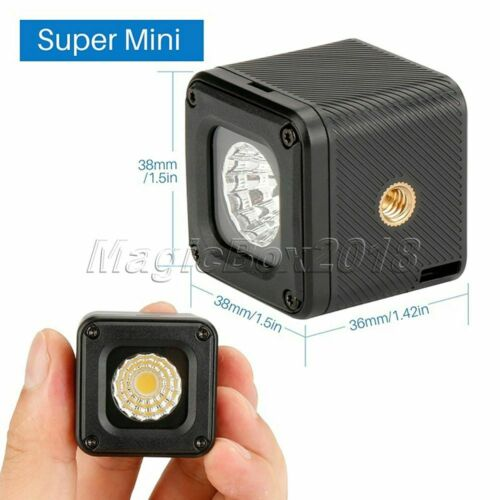 Ulanzi L1 Waterproof Dimmable LED Video Light for Drone Action Camera DSLR Phone
