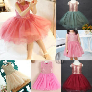 AU STOCK GIRLS PRINCESS PARTY DANCE BRIDESMAID COSTUME TULLE TUTU DRESS GD010