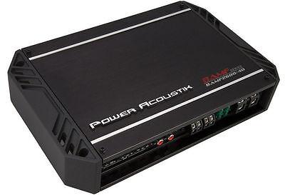 POWER ACOUSTIK BAMF2600/4D 2600 WATT CLASS D 4-CHANNEL AMPLIFIER CAR AMP BAMF