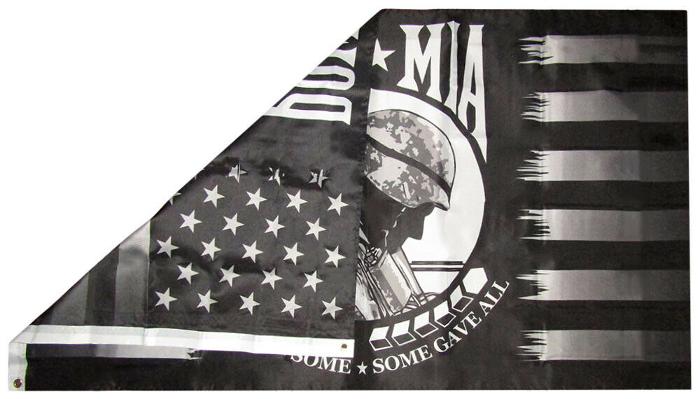 ALL GAVE SOME SOME GAVE ALL flag 3/'x5/' banner BRANCH Army Navy Air Force Marine