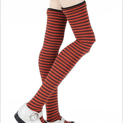 DOLLMORE NEW 1//3 BJD elasitcity SD size Striped Red Band Stocking