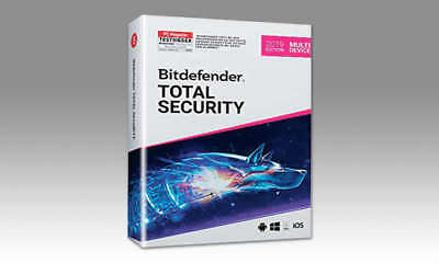 2 Bitdefender Total Security 2019 1-10 Pcs 3 Jahre 3/6m. Multi-device 1