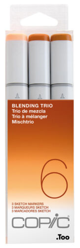 """COPIC Marker sketch 3er Set /""""Blending Trio 6/"""""""