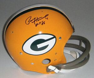 PACKERS-Paul-Hornung-signed-TK-F-S-helmet-w-HOF-86-JSA-COA-AUTO-Autographed