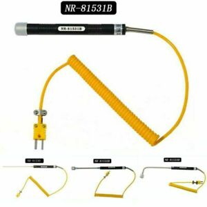 K Type Thermocouple Surface Temperature Probe Sensor 500°C For Thermometer 81531