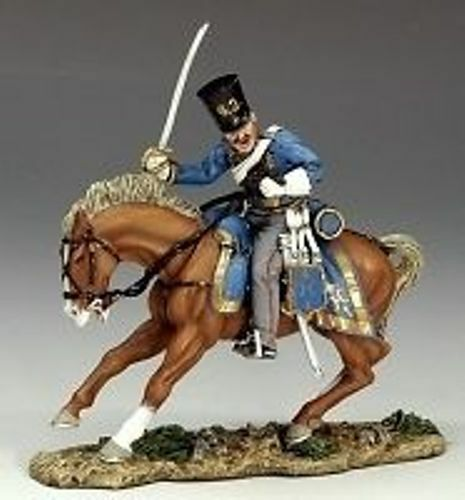 KING AND COUNTRY MOUNTED RUSSIAN HUSSAR CHARGING CRW019 CRW19