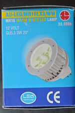 Genuine Aurora MR16 3W MR16 12v low LV Cree LED Bulb 3300k warm white 20 degree