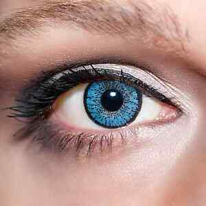 Blaue-Kontaktlinsen-farbige-Hellblaue-Linsen-Blau-Blue-Colour-Contacts-Lens-K201