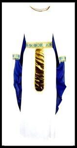 Cleopatra-Frau-vom-Nil-Agypterin-Kostuem-Gr-S-Fasching-Karneval-Halloween-neu