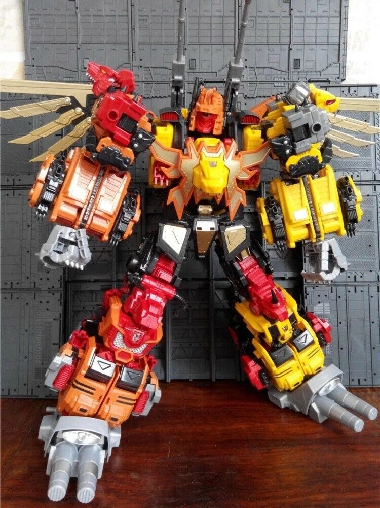 Transformers Toy Combiner Jinbao Into The Sky MMC Oversized Predaking Feral Rex
