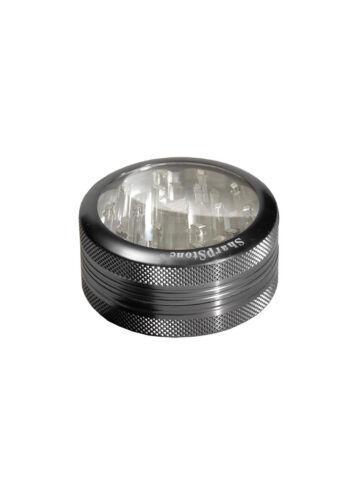 SharpStone fenêtre grinder 2 pcs 63 mm aluminium Moulin 2tlg à épices Moulin gris!