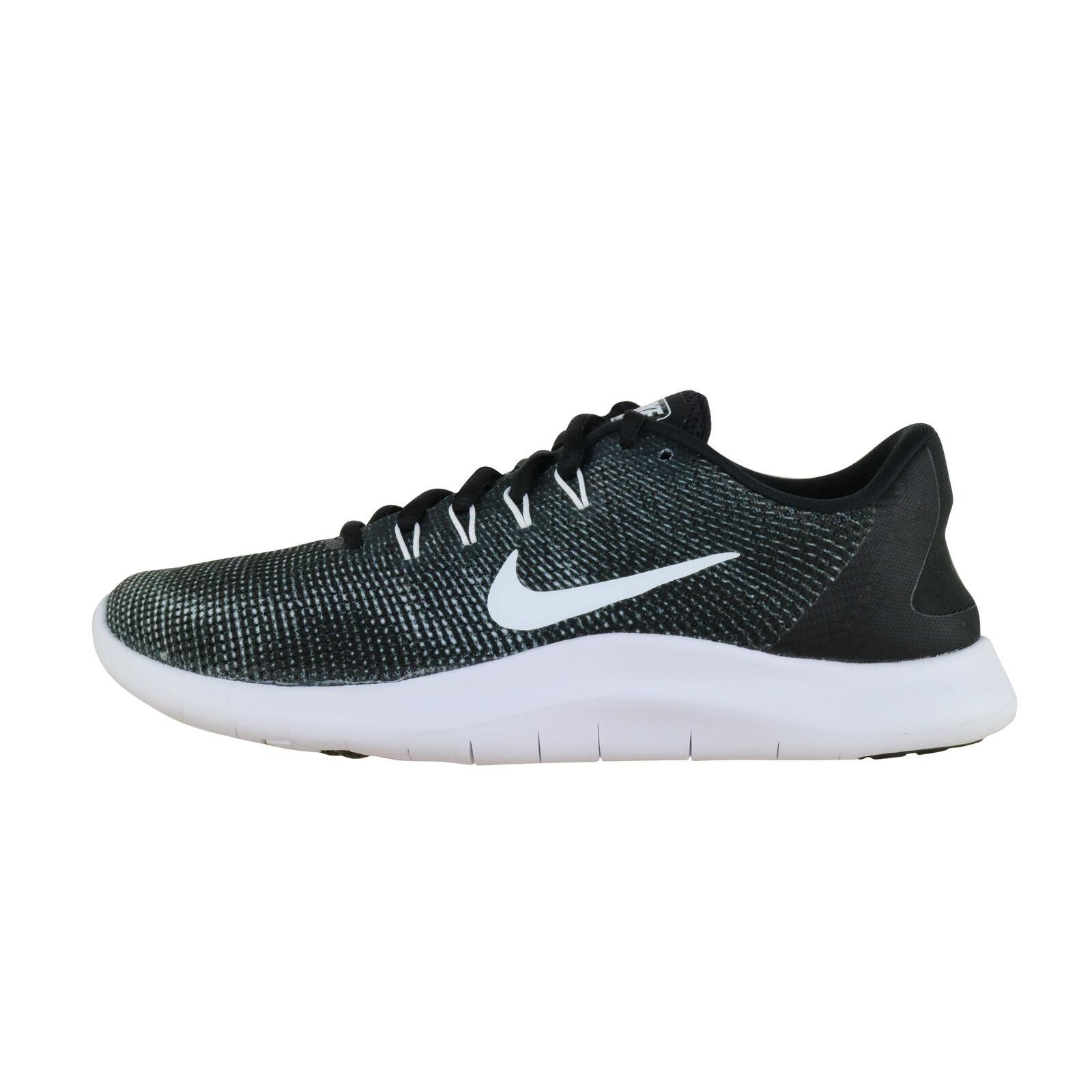 official photos 9b04c c28b3 Womens Nike Flex 2018 RN Run Running Shoes Aa7408-001 Sz 8 Black