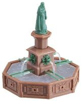 Ho Faller Market Square Fountain With Statue Figure : Model Kit 180581