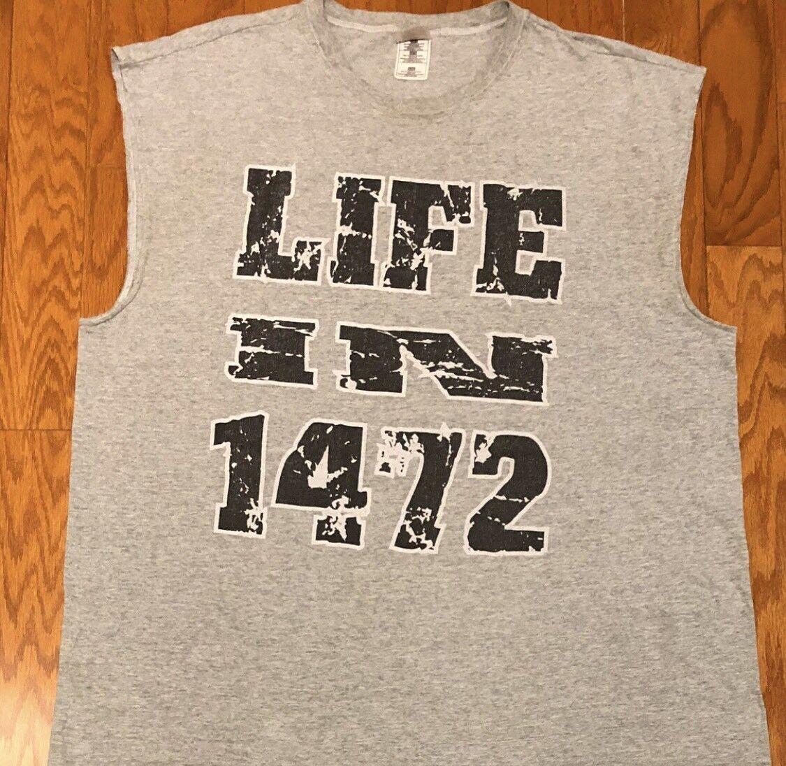 "RARE Vintage 1998 So So Def Jermaine Dupri ""Life In 1472"" Promo Tank Top sz XL"