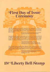 1618-First-Day-Ceremony-Program-13c-Liberty-Bell-Coil-Stamp