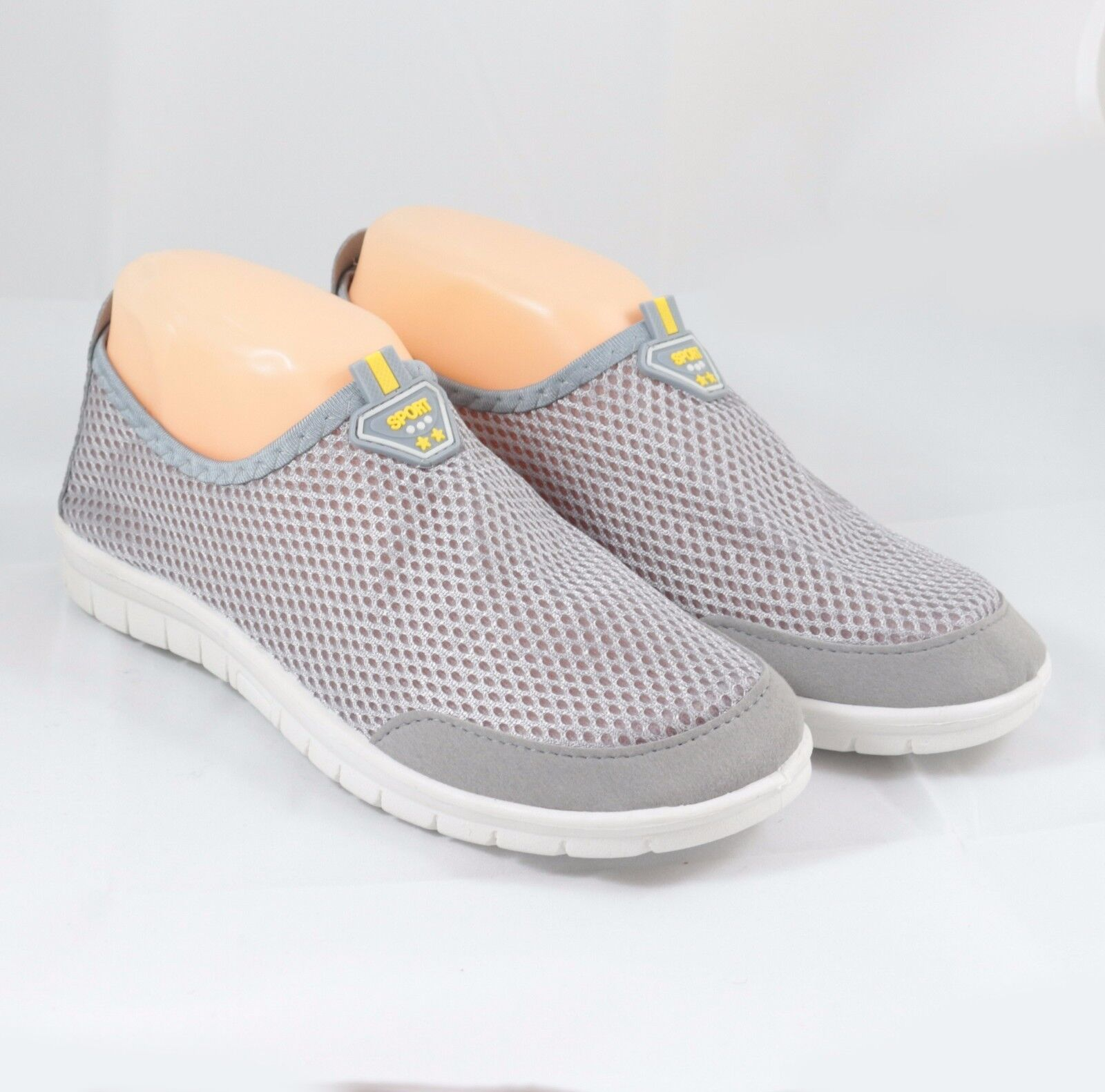 NWg Women's Athletic Gray Mesh Sneakers Running Athletic Women's Sports Casual Boost Shoes ab4596