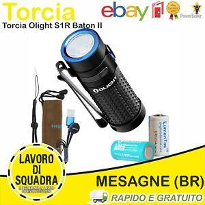 Olight S1R Baton II Torche Petite Rechargeable Edc Torche LED Puissant Extérieur