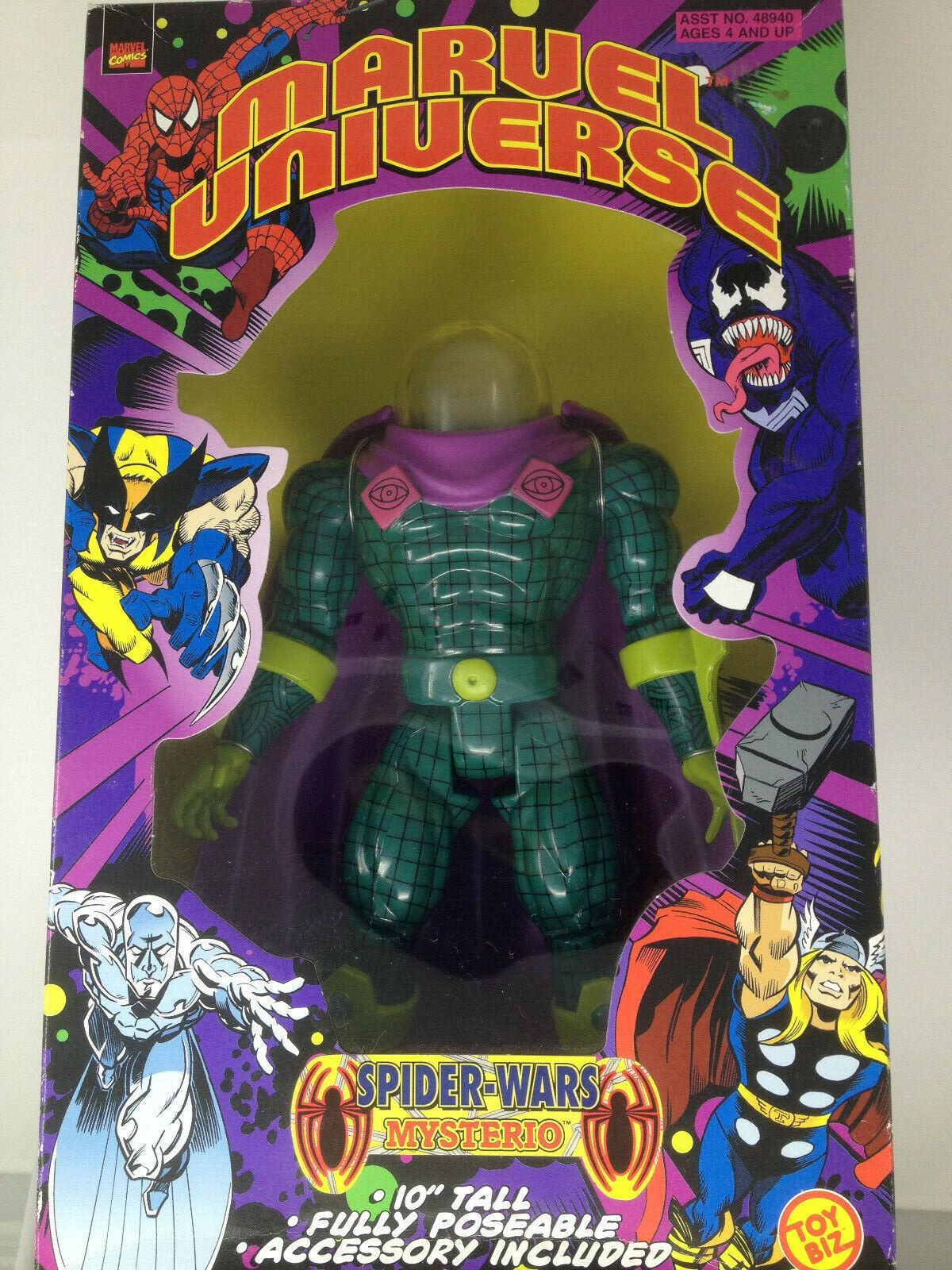 Mysterio MARVEL Universo 10  Figura De Acción Spider-Man Spider-guerras TOY BIZ 1998