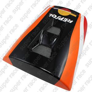Black Amp Orange Rear Seat Cover Cowl Tail Panel For Honda