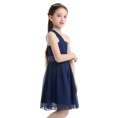 Kids Flower Girl Dress Party Wedding Pageant Jr.Bridesmaid Princess Formal Dress
