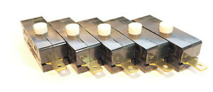 10 Pack DPDT Toggle Switch 6A 125VAC Break Before Make Hole Mount ON-ON NC NO