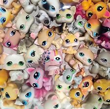 Littlest Pet Shop LPS Cats Random Grab Bag Lot of 2 Blemished Cats