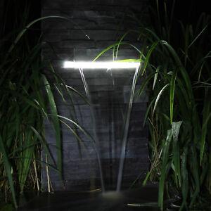 Das Bild Wird Geladen Wasserfall Set Fuer Garten Steinmauer  Teich Gartenteich Mit